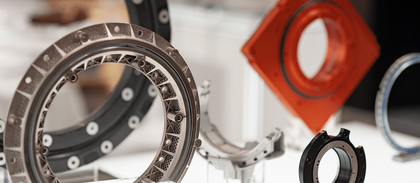 Range of materials and geometry for specialist bearings