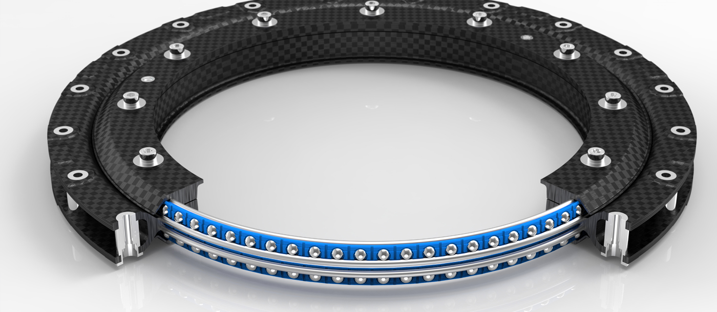 Bespoke Lightweight Linear and Rotary Bearings