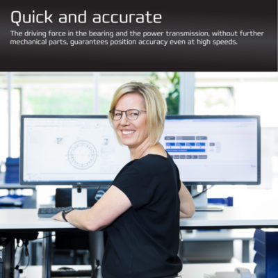 Direct Drive Brochure - Quick and accurate page