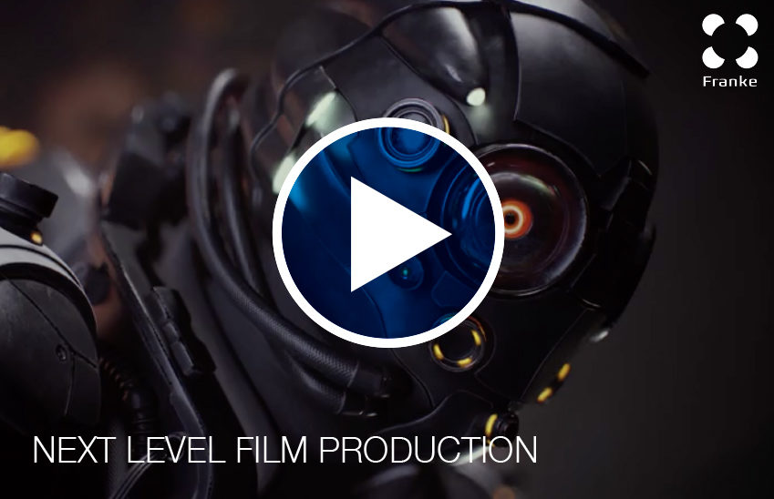 Lightweight bearings video for the film production and motion control industry