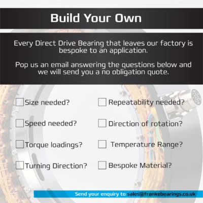 Build your own direct drive